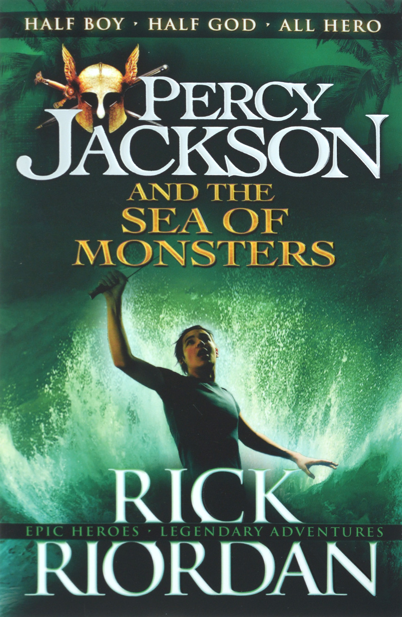 Percy Jackson and the Sea of Monsters bodies the whole blood pumping story