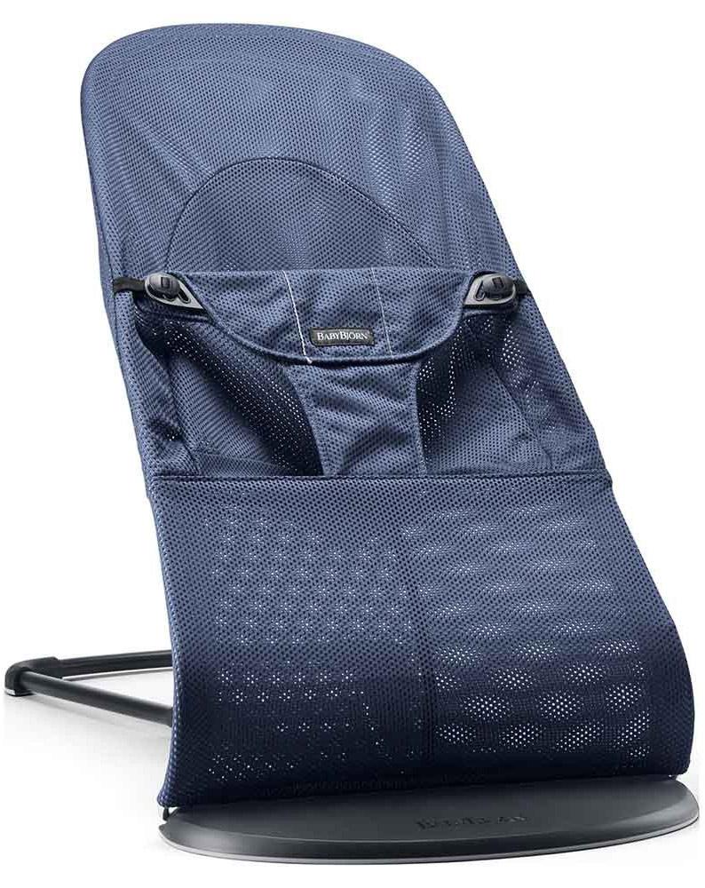 BabyBjorn Кресло-шезлонг Balance Soft цвет темно-синий
