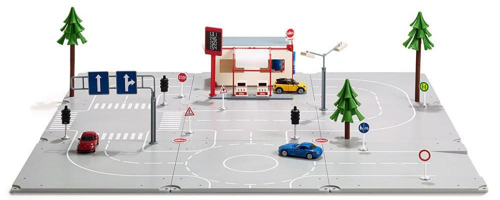 Siku Игровой набор Startset Stadt игровой набор siku набор транспорта и дорожных знаков
