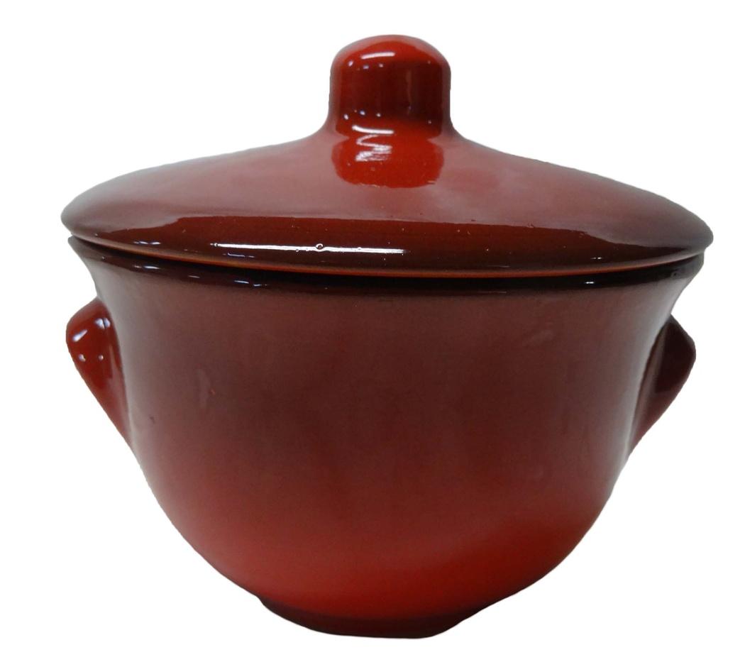 Горшок для жаркого Борисовская керамика Лакомка, 0,4 л горшочек для жаркого борисовская керамика русский мрамор