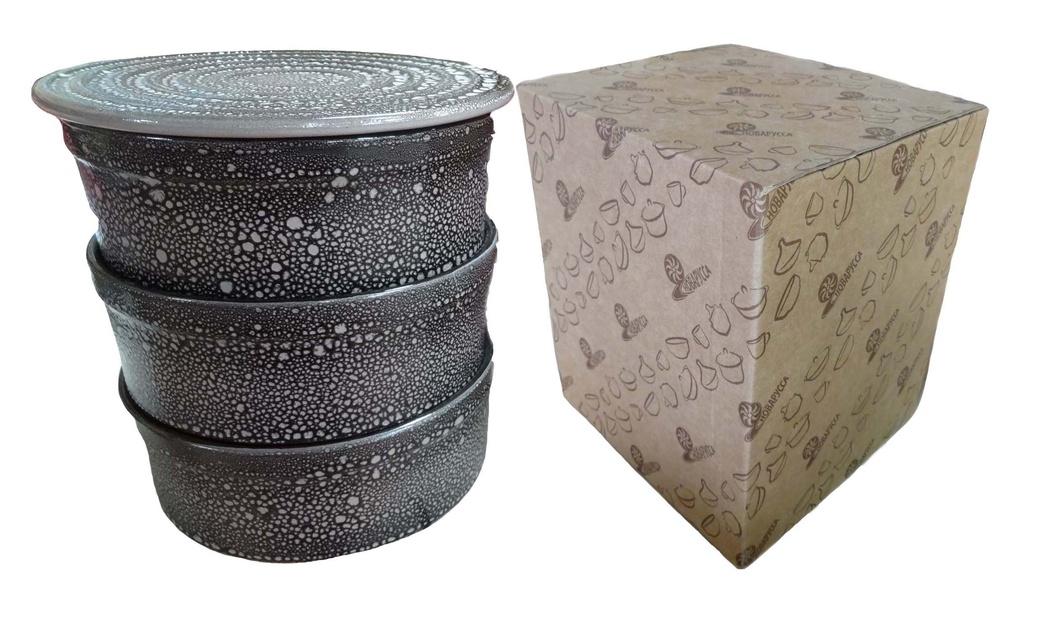 Набор блюд для холодца Борисовская керамика Белогорье, цвет: черный, 3 л, 4 предметаМРМ14456847Блюда для холодца Борисовская керамика Белогорье, изготовленные из высококачественной керамики, состоит из трех прямых практичных форм для заливного-холодца и одной крышки-подставки. Сочетает в себе восемь (!) функций: формы для холодца, подставка для холодца, формы для запекания, удобные салатники, доска для нарезки, подставка под горячее, форма для выпечки торта, подставка для торта и пиццы. Такие блюда украсят сервировку вашего стола и подчеркнут прекрасный вкус хозяйки.Общий объем блюд: 3 л.