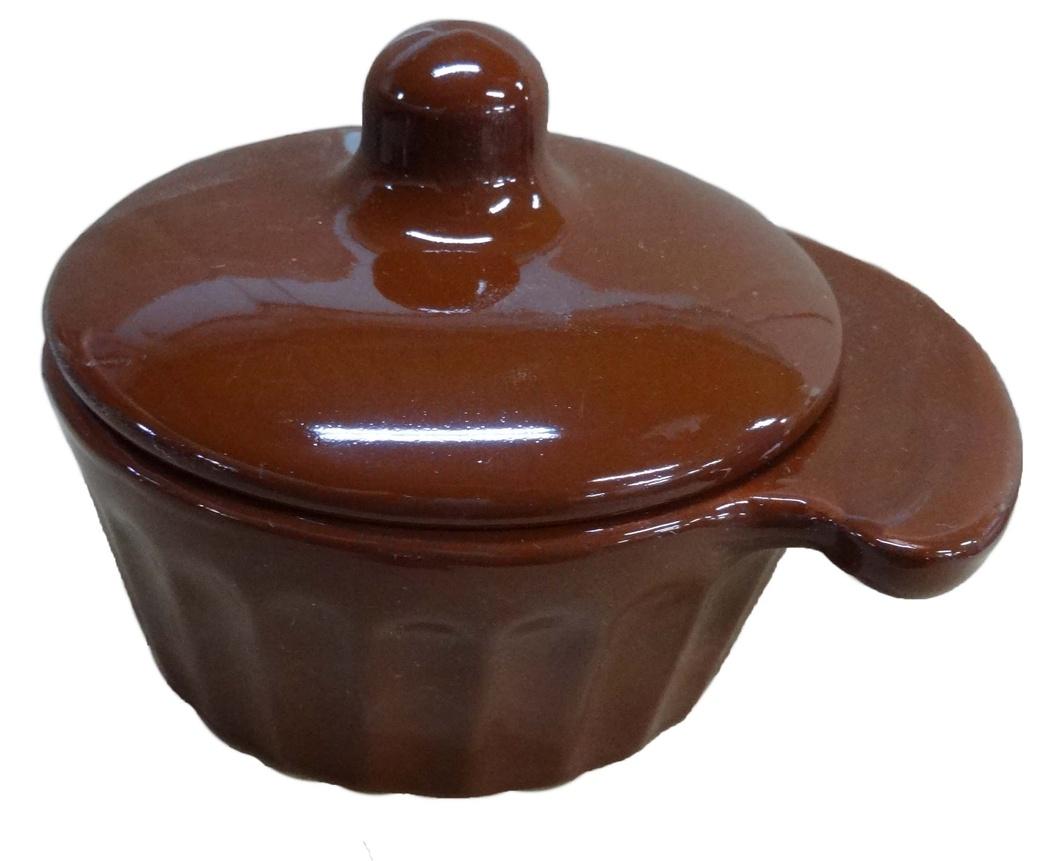 Кокотница Борисовская керамика Ностальгия, с крышкой, 0,2 лОБЧ14457903Граненая форма кокотницы Борисовская керамика Ностальгия никого не оставляет равнодушным. Она выполнена из высококачественной керамики и оснащена крышкой. В кокотнице можно удобно запекать кексы, делать жульены. Она отлично подойдет для сервировки стола и подачи блюд. Кокотницу можно использовать как порционно, так и для подачи приправ, острых соусов и другого.Подходит для использования в микроволновой печи и духовке.Ширина: 12 см.Высота: 8 см.