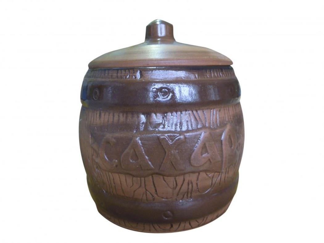 Бочонок Борисовская керамика Сахар, 1200 мл мои первые друзья животные