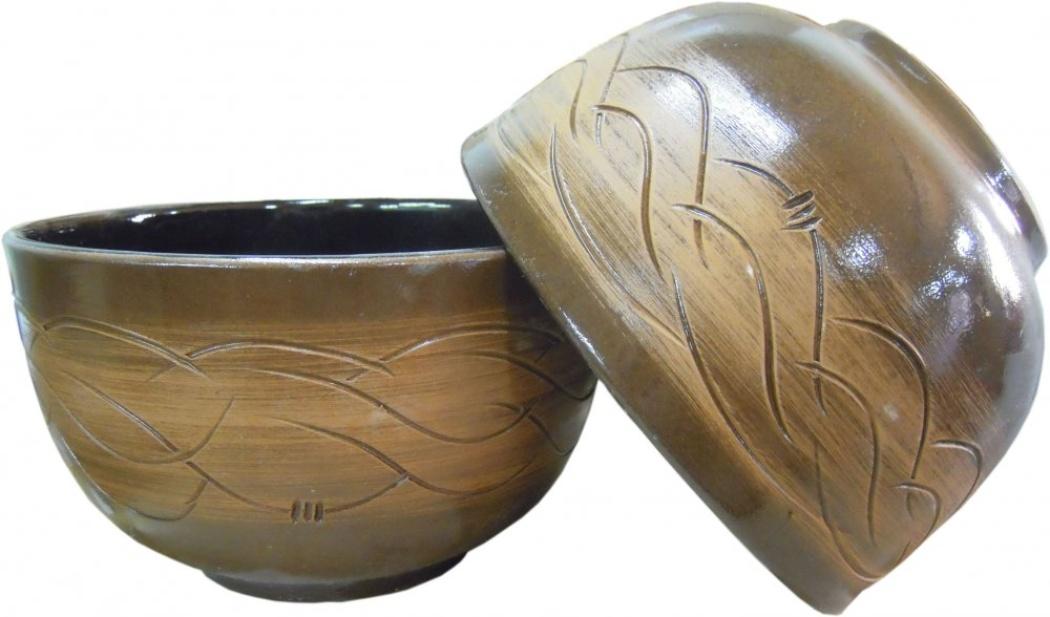 Салатник Борисовская керамика Старина, 2000 млСТР00000523Можно использовать для запекания в духовке и микроволновой печи. Отлично подойдет для офиса - очень хорошо использовать для разогревания еды в микроволновке, так как долго сохраняется тепло