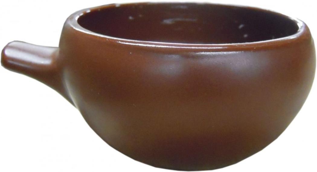 Кокотница Борисовская керамика Шелк, 180 млШЛК00000417Кокотница Борисовская керамика Шёлк никого не оставляет равнодушным. Она выполнена из высококачественной керамики. Внешние и внутренние стенки покрыты цветной глазурью. В кокотнице можно удобно запекать кексы, делать жульены. Отличается толстыми стенками, что положительно сказывается на вкусе готового блюда. Очень компактна, при запекании кокотницы можно разместить в большом количестве. Экономит место на кухне.Она отлично подойдет для сервировки стола и подачи блюд. Кокотницу можно использовать как порционно, так и для подачи приправ, острых соусов и другого. Подходит для использования в микроволновой печи и духовке.Высота: 5 см. Диаметр: 11 см.