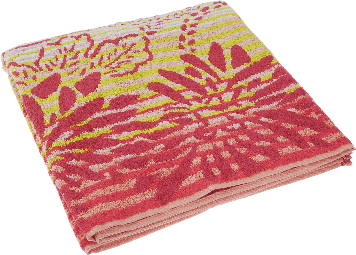 Полотенце Soavita Premium. Веер, цвет: розовый, красный, зеленый, 65 х 130 см74693Полотенце Soavita Premium. Веер выполнено из 100% хлопка. Изделие отлично впитывает влагу, быстро сохнет, сохраняет яркость цвета и не теряет форму даже после многократных стирок. Полотенце очень практично и неприхотливо в уходе. Оно создаст прекрасное настроение и украсит интерьер.