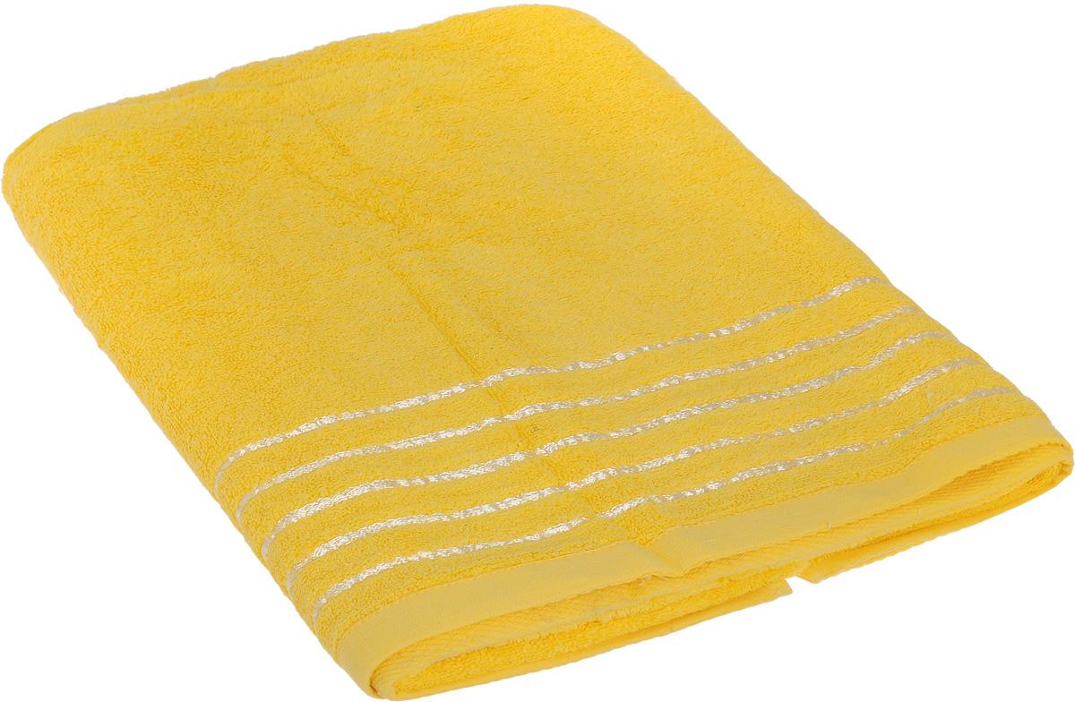 Полотенце Soavita Olivia, цвет: желтый, 70 х 140 см64011Полотенце Soavita Olivia выполнено из 100% хлопка. Изделиеотлично впитывает влагу, быстро сохнет, сохраняет яркость цвета и не теряетформу даже послемногократных стирок.Полотенце очень практично и неприхотливо в уходе. Оно создаст прекрасноенастроение иукрасит интерьер в ванной комнате.
