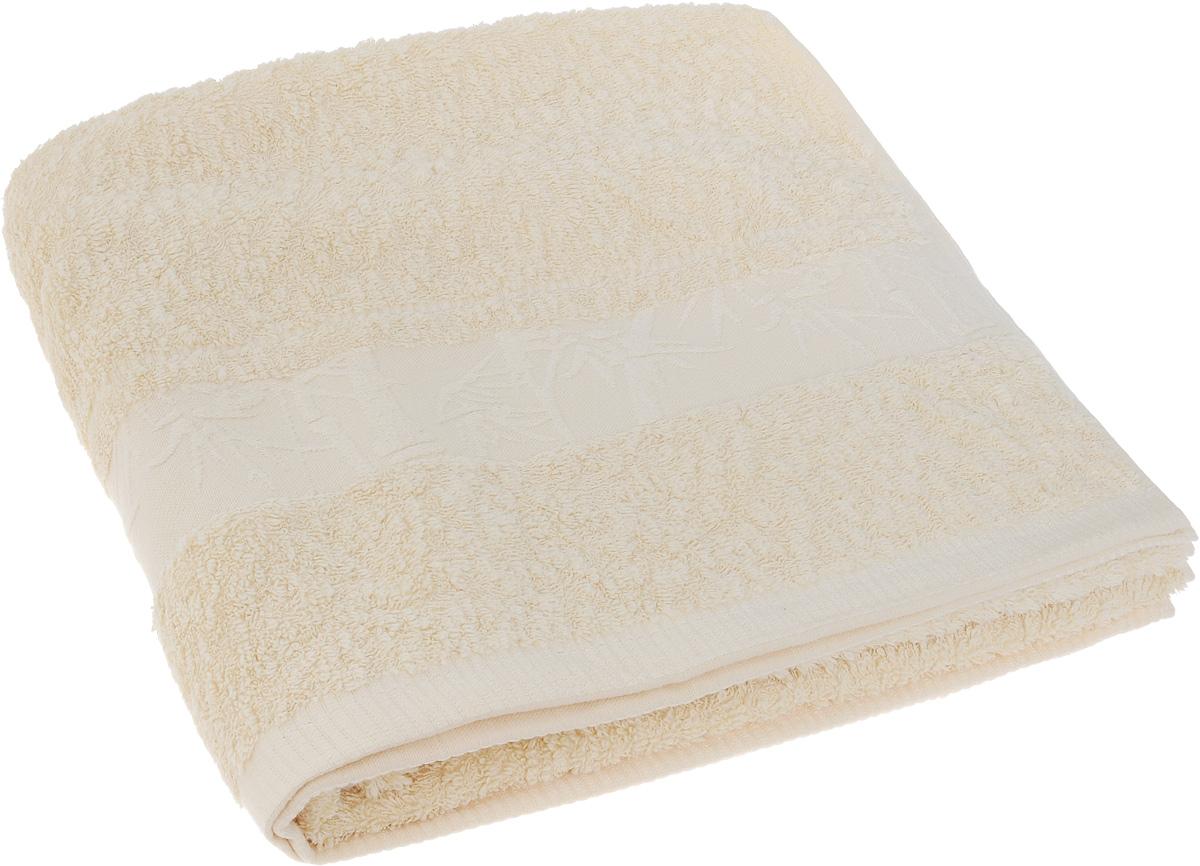 Полотенце Soavita Chloe, цвет: кремовый, 70 х 30 см64163Полотенце Soavita Chloe выполнено из 100% бамбукового волокна. Изделие отлично впитывает влагу, быстро сохнет, сохраняет яркость цвета и не теряет форму даже после многократных стирок. Полотенце очень практично и неприхотливо в уходе. Оно создаст прекрасное настроение и украсит интерьер в ванной комнате.