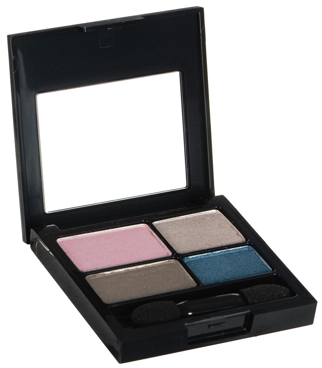 Revlon Тени для Век Четырехцветные Colorstay Eye16 Hour Eye Shadow Quad Romantic 526 4,8 г7210767026Colorstay 16 Hour Sahdow - роскошные тени для век с шелковистой текстурой и невероятно стойкой формулой. Теперь ваш макияж сохранит свой безупречный вид не менее 16 часов! Все оттенки гармонично сочетаются друг с другом и легко смешиваются, позволяя создать бесконечное количество вариантов макияжа глаз: от нежных, естественных, едва заметных, до ярких, выразительных, драматических. На оборотной стороне продукта приведена схема нанесения.Аккуратно нанести на веки специальной кисточкой.