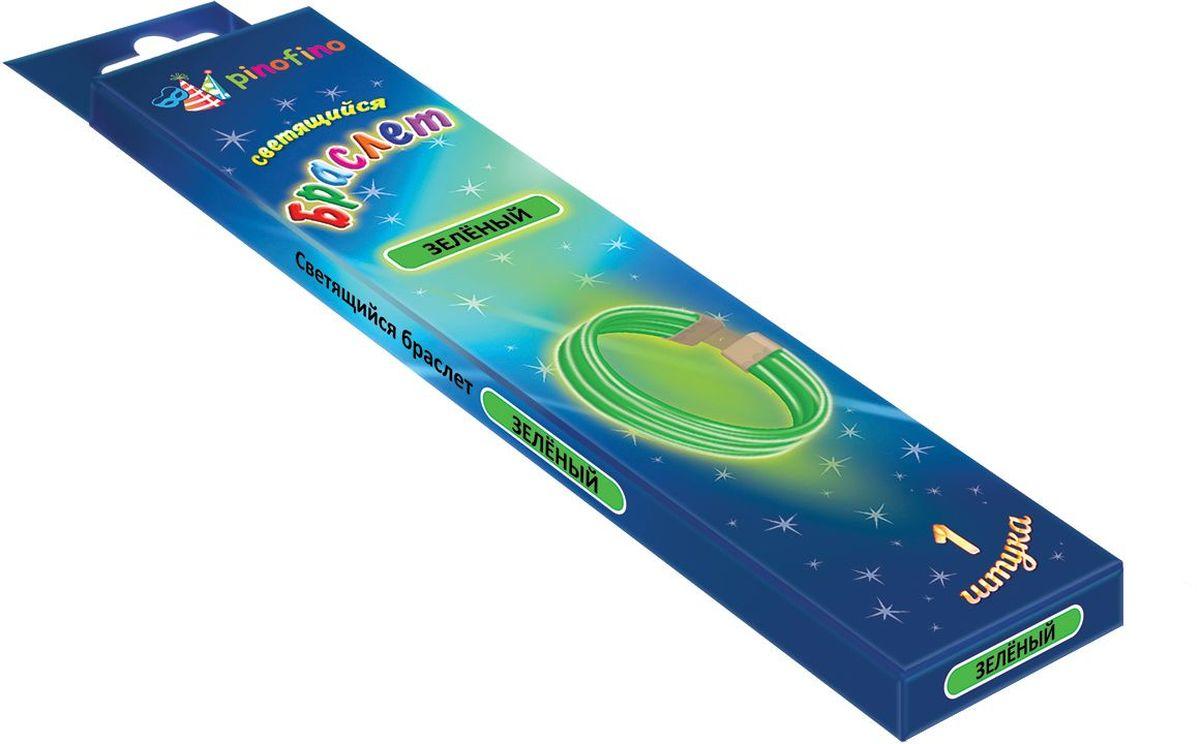 Pinofino Изделие для праздников и карнавалов Светящийся браслет PF0105 цвет зеленый