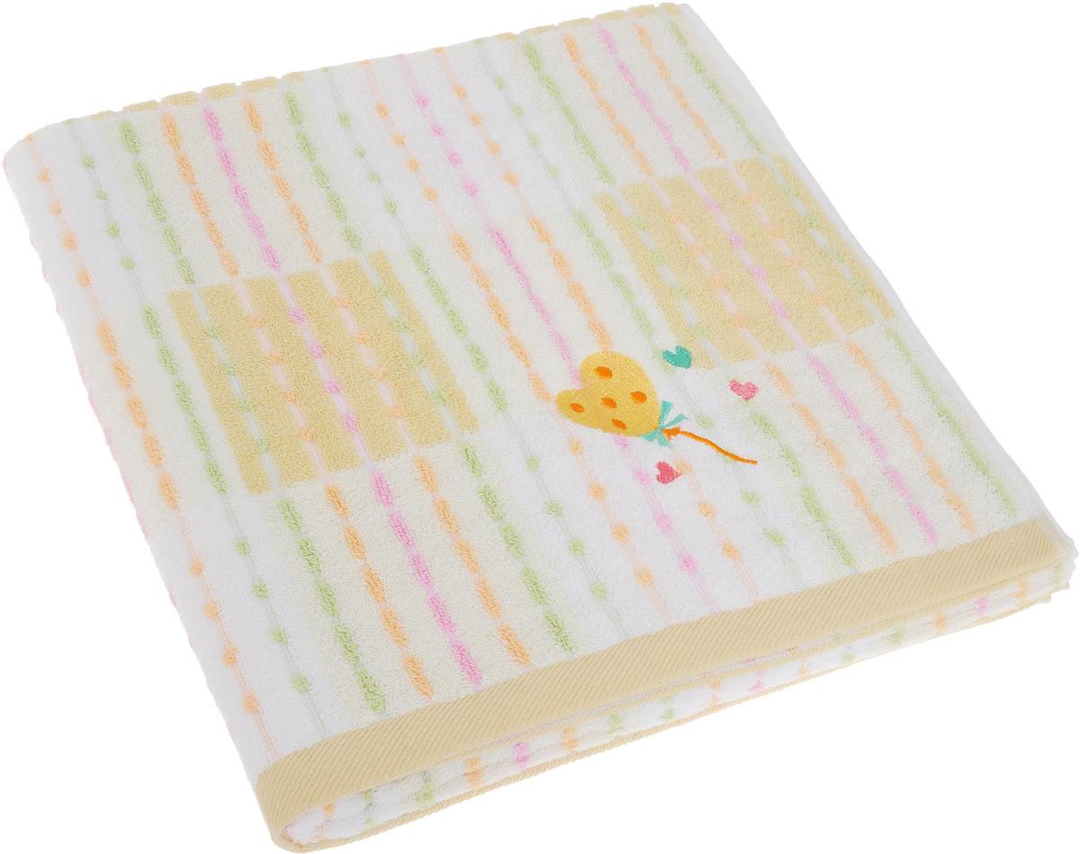 Полотенце Soavita Premium. Marni, цвет: бежевый, 70 х 140 см62916Полотенце Soavita Premium. Marni выполнено из 100% хлопка. Изделие отлично впитывает влагу, быстро сохнет, сохраняет яркость цвета и не теряет форму даже после многократных стирок. Полотенце очень практично и неприхотливо в уходе. Оно создаст прекрасное настроение и украсит интерьер в ванной комнате.