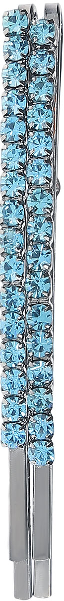 Заколка-невидимка Mitya Veselkov, цвет: голубой. ZAKN4-BLU зажим невидимка вспышка