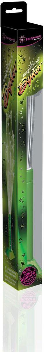 Partymania Игрушка-светильник Искристый букет цвет зеленый partymania украшение стикер для лица тигр