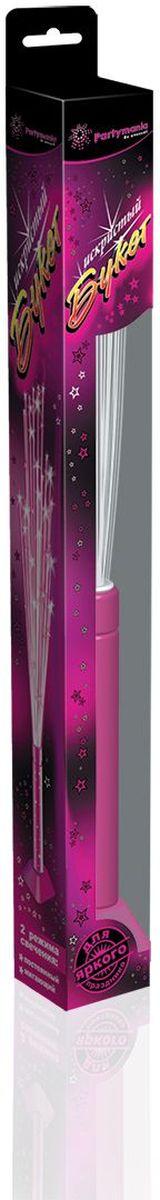 Partymania Игрушка-светильник Искристый букет цвет розовый
