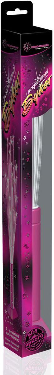 Partymania Игрушка-светильник Искристый букет Т0202 цвет розовый
