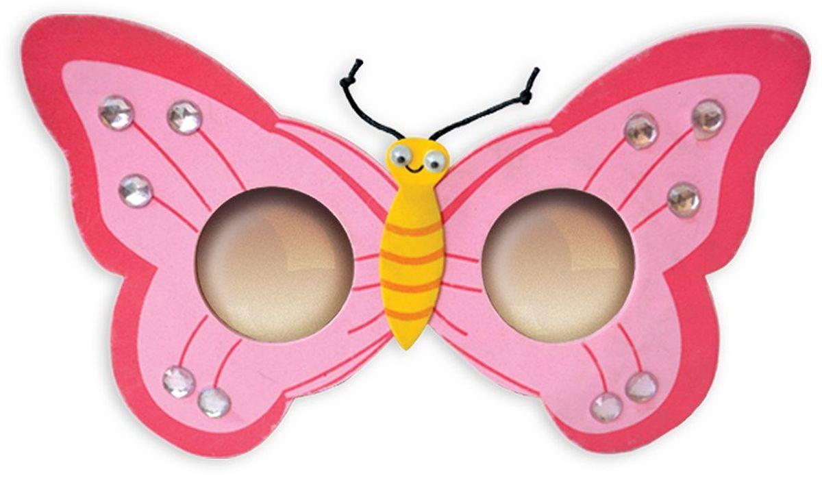 B&H Очки карнавальные детские Бабочка -  Очки карнавальные