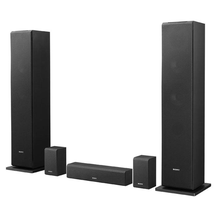 Sony SS-CS310CR 5.0 комплект акустикиSSCS310CR.CE7Идеальное дополнение вашей системы домашнего кинотеатраОткройте для себя истинное значение понятия полное погружение в развлечения. Комплект АС Sony SS-CS310CR 5.0 идеально дополнит систему домашнего кинотеатра благодаря мощным напольным АС и небольшим колонкам объемного звука, которые наполнят фильмы и музыку новыми деталями и звучанием.Новый подход к просмотру благодаря 5-канальной системе объемного звукаЕстественная глубина и невероятная четкость звучания, что бы вы ни слушали. Sony SS-CS310CR 5.0 для домашнего кинотеатра включает две напольные АС, две сателлитные АС и одну небольшую центральную АС для создания объемного звука. Во фронтальных АС реализованы два низкочастотных динамика с диффузором, усиленным слюдой методом спекания, динамик для ультравысоких частот и мягкокупольный ВЧ-динамик, делая их идеальным решением для фильмов и музыки.Динамик ультравысоких частот для яркого звучания высоких нотТочное воспроизведение высоких частот в музыке и диалогах. Динамики для ультравысоких частот с широкой дисперсией звука, установленные во фронтальных АС, создают широкую звуковую сцену с равномерным качеством звучания. Высокие частоты воспроизводятся чисто и четко со звуком высокого разрешения, что позволит насладиться выдающимся качеством звука в любой точке звуковой сцены.Конус из армированного слюдой стекловолокна транслирует звук без искаженийОцените более глубокое и богатое звучание басов. В большом количестве динамиков используются бумажные диффузоры, которые со временем сгибаются и изнашиваются, что увеличивает искажение звука. Армированные слюдой сотовые волоконные низкочастотные динамики отличаются жесткостью и сохраняют свою форму даже при большой нагрузке, так что вы можете слушать басы еще громче без ущерба для качества звука.Подключите свою коллекцию аудио высокого разрешенияКомплект пассивных колонок поддерживает форматы аудио высокого разрешения, благодаря чему можно оценить объемный звук высокого разре