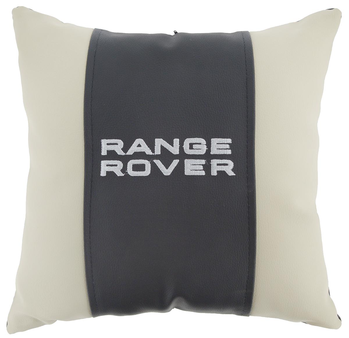 Подушка на сиденье Autoparts Range Rover, цвет: молочный, темно-серый, 30 х 30 смМ061Подушка на сиденье Autoparts Range Rover создана для тех, кто весь свой день вынужден проводить за рулем. Чехол выполнен из высококачественной дышащей экокожи. Наполнителем служит холлофайбер. На задней части подушки имеется змейка.Особенности подушки:- Хорошо проветривается.- Предупреждает потение.- Поддерживает комфортную температуру.- Обминается по форме тела.- Улучшает кровообращение.- Исключает затечные явления.- Предупреждает развитие заболеваний, связанных с сидячим образом жизни. Подушка также будет полезна и дома - при работе за компьютером, школьникам - при выполнении домашних работ, да и в любимом кресле перед телевизором.