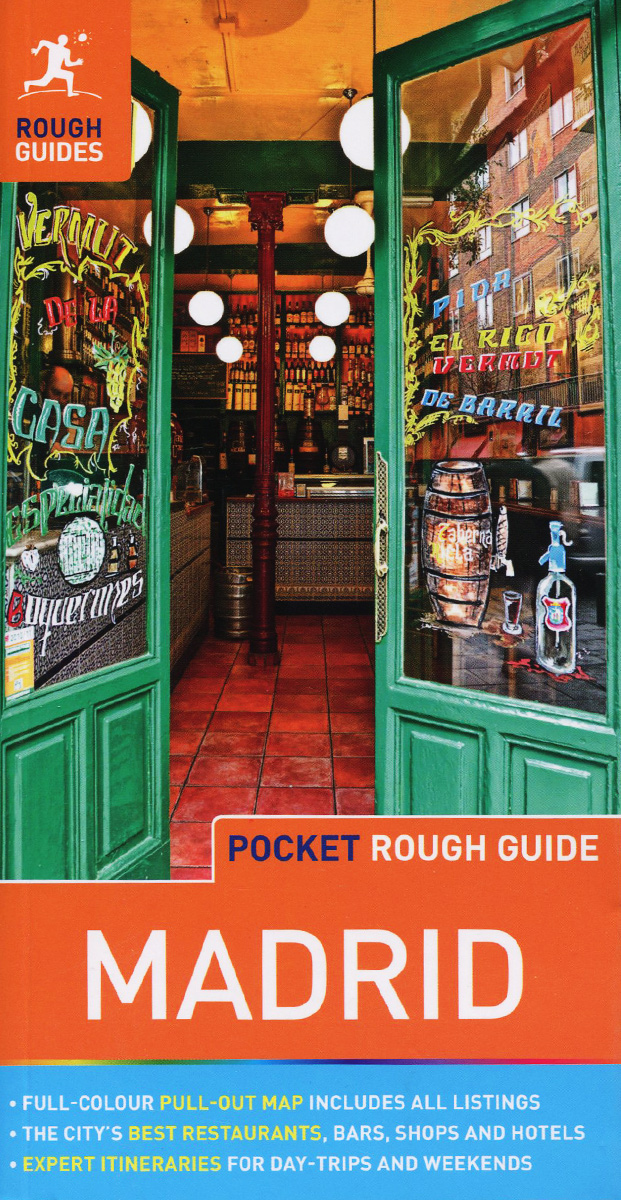 Madrid: Pocket Rough Guide dublin pocket map and guide