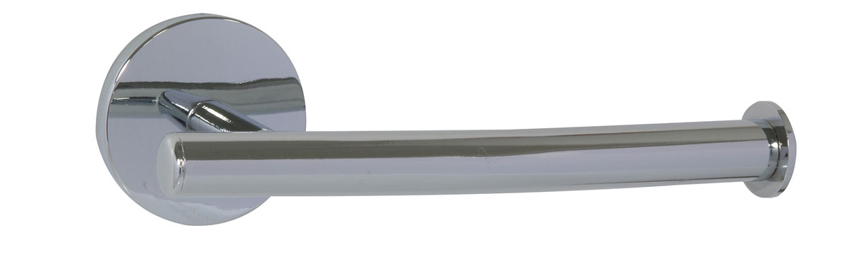 Держатель для туалетной бумаги Axentia Capri, 16,7 х 7,5 х 6 см122434Держатель для туалетной бумаги Axentia Capri изготовлен из высококачественной стали с хромированным покрытием, которое на долго защитит изделие от ржавчины в условиях высокой влажности в ванной комнате. Изделие крепится на стену с помощью шурупов (входят в комплект).Держатель поможет оформить интерьер в выбранном стиле, разбавляя пространство туалетной комнаты различными элементами. Он хорошо впишется в любой интерьер, придавая ему черты современности. Отлично сочетается с другими аксессуарами из коллекции Capri.Размер держателя: 16,5 х 7,5 х 6 см.