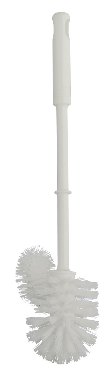 Ершик для унитаза Axentia, с дополнительной щеточкой, высота 37,5 см271571Ершик для унитаза Axentia, изготовленный из пластика, оснащен удобной ручкой.Щетка с жестким густым ворсом прослужит долгое время без необходимостизамены. Изделие оснащено дополнительной щеточкой для чистки под ободком унитаза, где, как известно, скапливаются загрязнения, микробы и неприятный запах. Подходит к большинству держателей под ершики.