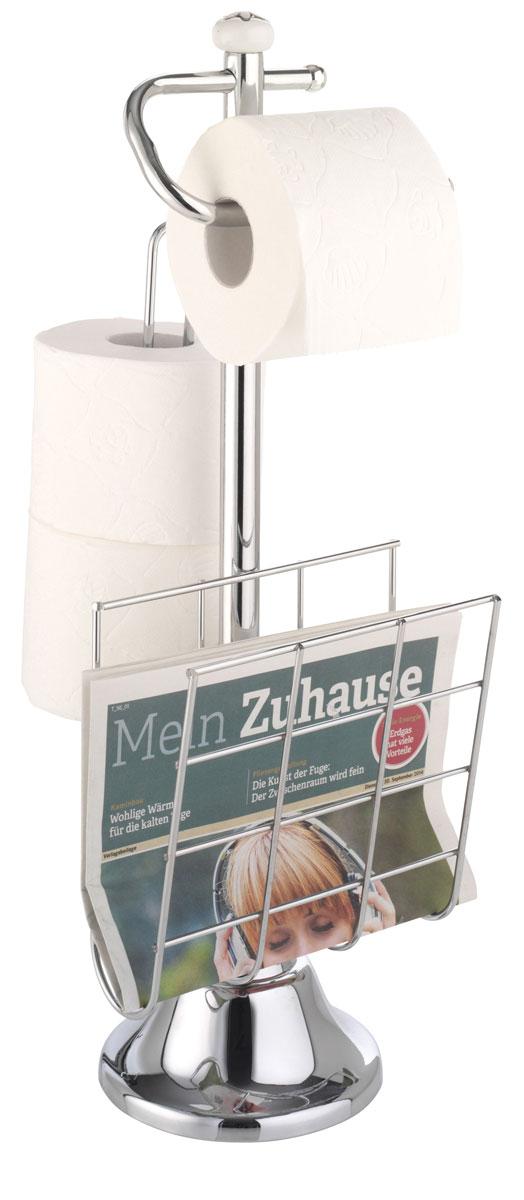 Держатель для туалетной бумаги и журналов