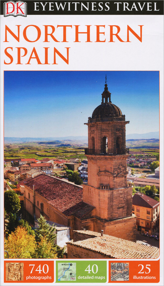 Фото Eyewitness Travel: Northern Spain dk eyewitness top 10 travel guide scotland