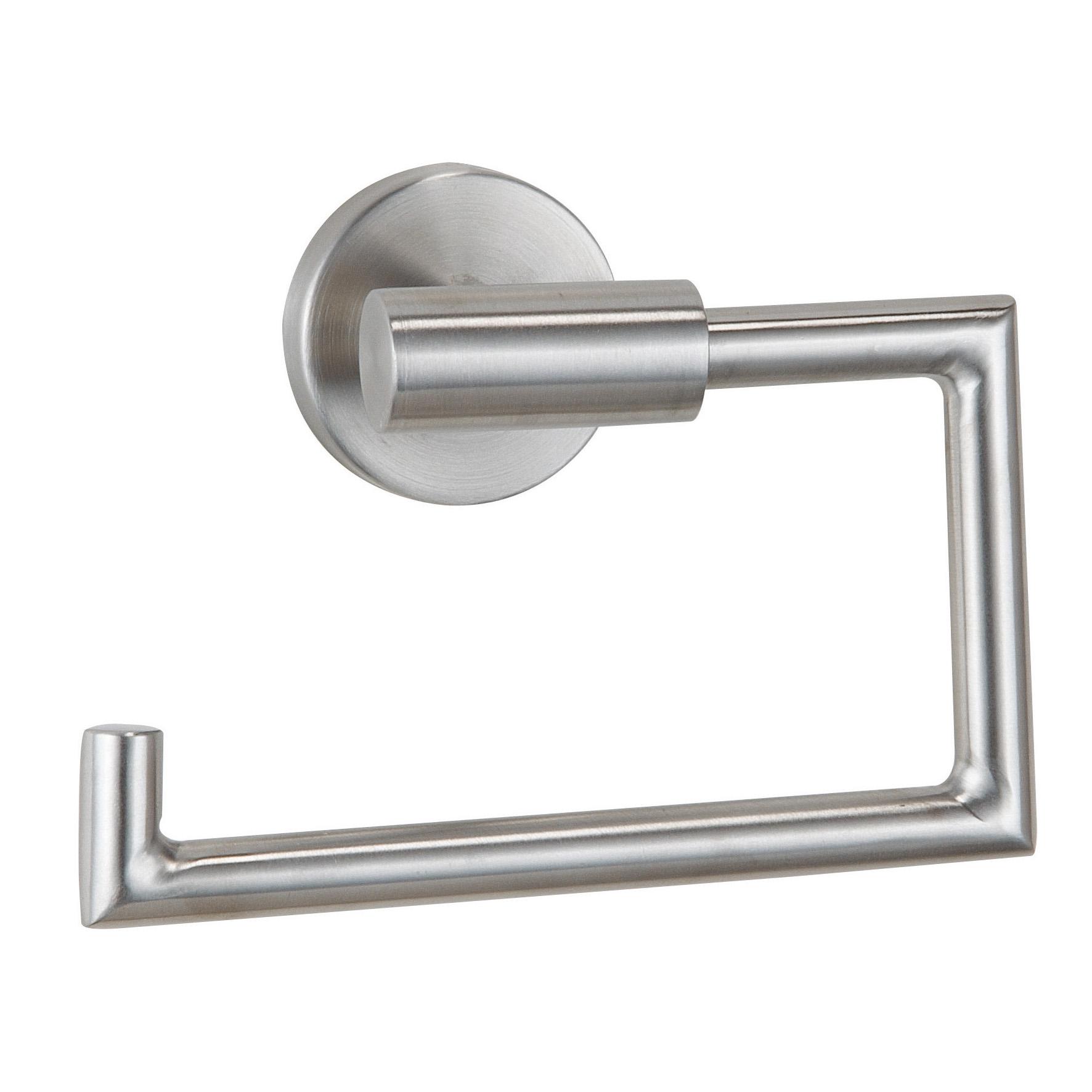 Держатель для туалетной бумаги Axentia, 15,5 х 6 х 11 см116945Держатель для туалетной бумаги Axentia изготовлен из высококачественной нержавеющей стали. Изделие крепится на стену с помощью шурупов (входят в комплект). Держатель поможет оформить интерьер в выбранном стиле, разбавляя пространство туалетной комнаты различными элементами. Он хорошо впишется в любой интерьер, придавая ему черты современности. Размер держателя: 15,5 х 6 х 11 см.