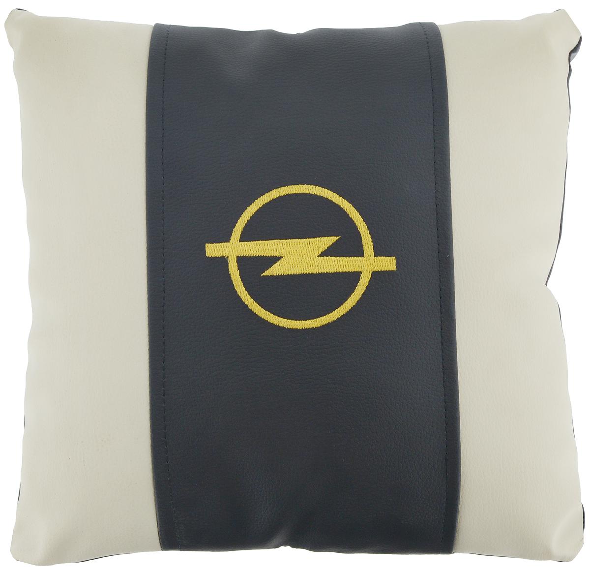 Подушка на сиденье Autoparts Opel, 30 х 30 смМ050Подушка на сиденье Autoparts Opel создана для тех, кто весь свой день вынужден проводить за рулем. Чехол выполнен из высококачественной дышащей экокожи. Наполнителем служит холлофайбер. На задней части подушки имеется змейка.Особенности подушки:- Хорошо проветривается.- Предупреждает потение.- Поддерживает комфортную температуру.- Обминается по форме тела.- Улучшает кровообращение.- Исключает затечные явления.- Предупреждает развитие заболеваний, связанных с сидячим образом жизни. Подушка также будет полезна и дома - при работе за компьютером, школьникам - при выполнении домашних работ, да и в любимом кресле перед телевизором.