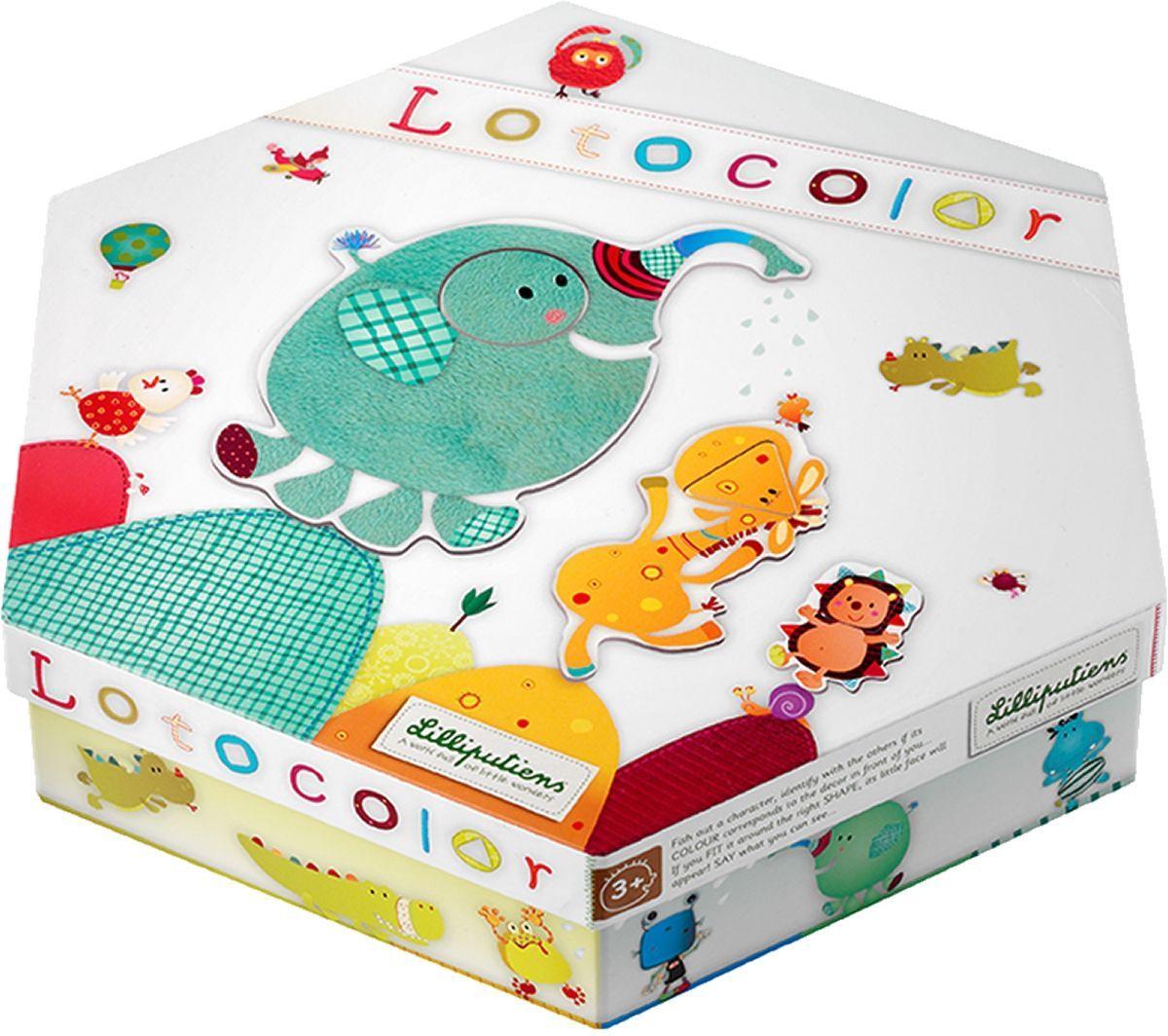 Lilliputiens Пазл-лото для малышей Лотоколор, S.A.Lilliputiens N.V.