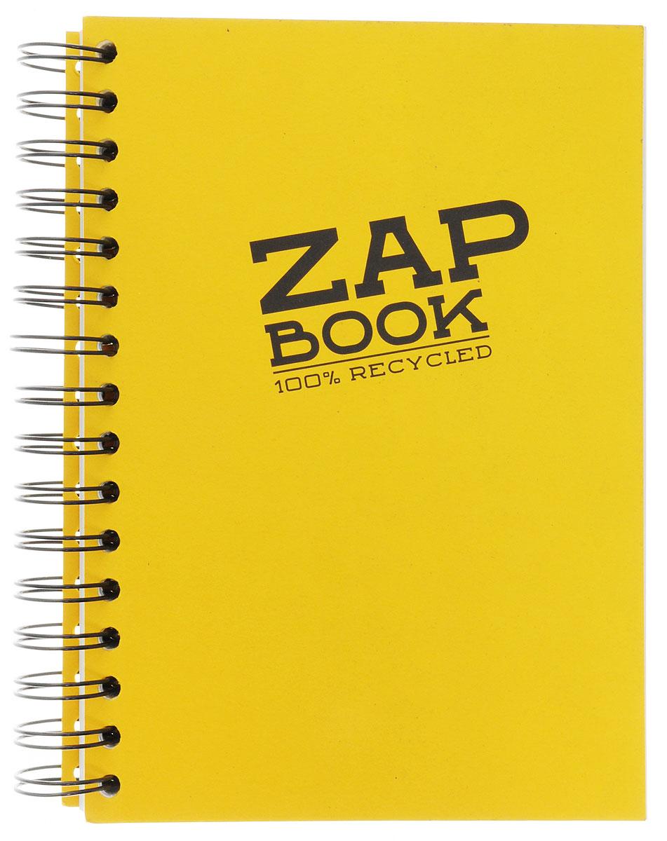Clairefontaine Блокнот для эскизов Zap Book 160 листов цвет желтый блокнот не трогай мой блокнот а5 144 стр