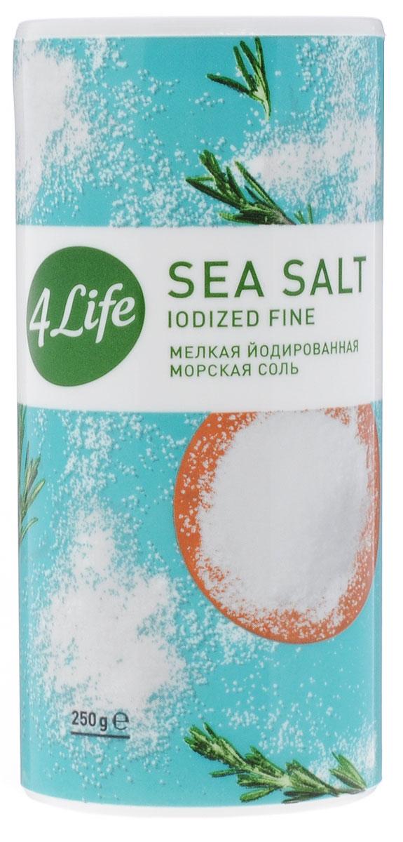 4Life соль морская мелкая йодированная, 250 гбтв008Атлантическая морская йодированная соль 4Life - это 100% натуральный продукт, в своем составе не содержит Е535, 536, дополнительно обогащена йодом. Морская соль предназначена для приготовления различных продуктов, а также для подсаливания уже готовых блюд. Благодаря своему особому составу, морская соль 4Life тонко и изысканно подчеркивает естественный вкус продуктов, поэтому ей отдают предпочтение и гурманы, и сторонники здорового питания. Морская соль добывается путем выпаривания чистейшей воды Атлантического океана под солнечными лучами. Этот естественный, экологичный метод производства позволяет получить максимально чистую соль природного состава. Она содержит не только NaCl, но и широкую палитру полезных для здоровья микроэлементов. Морская соль дополнительно йодирована йодатом калия, который необходим для компенсации йододефицита, характерного для большей части населения нашей страны. 5-10 г соли 4Life полностью удовлетворяют суточную потребность организма в йоде.