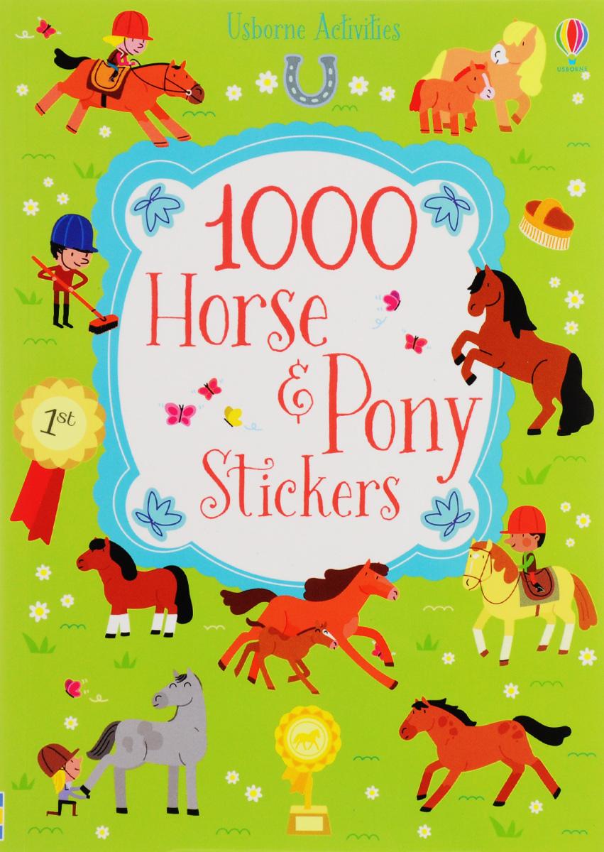 1000 Horse & Pony Stickers