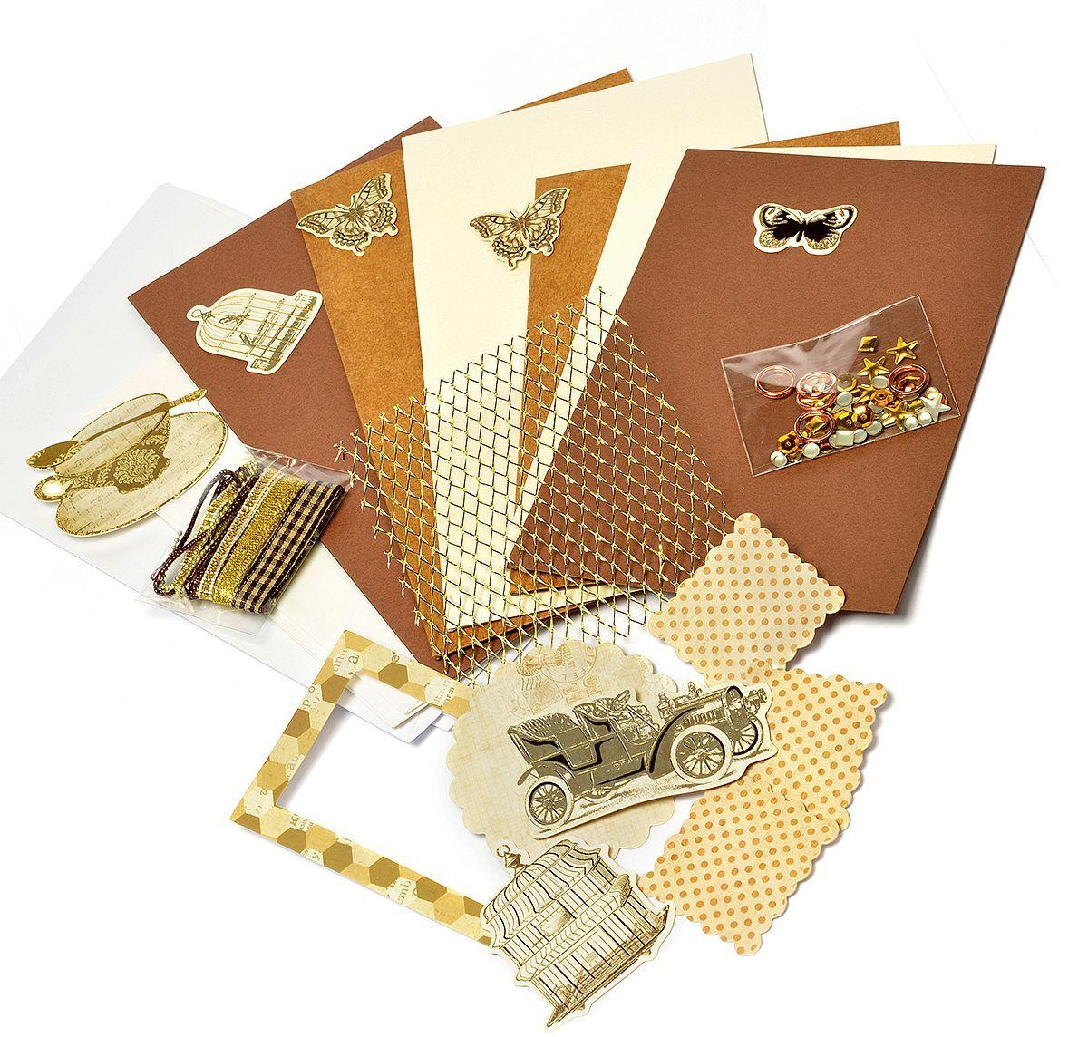 """Набор для создания открыток """"Magic 4 Hobby"""", 11,5 x 17 см, 11,5 x 21 см. MG.DIY-6B.3"""