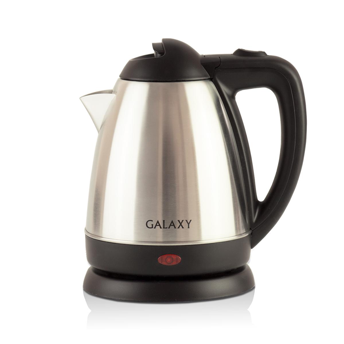 Galaxy GL 0317, Silver чайник электрический4650067301969Металлический чайник Galaxy GL 0317 изготавливается из стали марки 18/10, именуемой медицинской или хирургической. Такое название она получила не случайно, ведь именно из этой марки стали изготавливаются медицинские и хирургические инструменты. Это обусловлено тем, что сталь 18/10 экологически безопасна, имеет высокую плотность и твердость, устойчива к коррозии, а также к воздействию кислот и щелочей, в том числе при высоких температурах.Galaxy Galaxy GL 0317 - это мощная (1200 Вт) модель объемом 1,2 л. С помощью этого чайника вы сможете приготовить чай на большую компанию за считанные минуты. Вращающийся корпус сделает использование чайника еще более удобным, а фильтр избавит от попадания накипи в чашку.