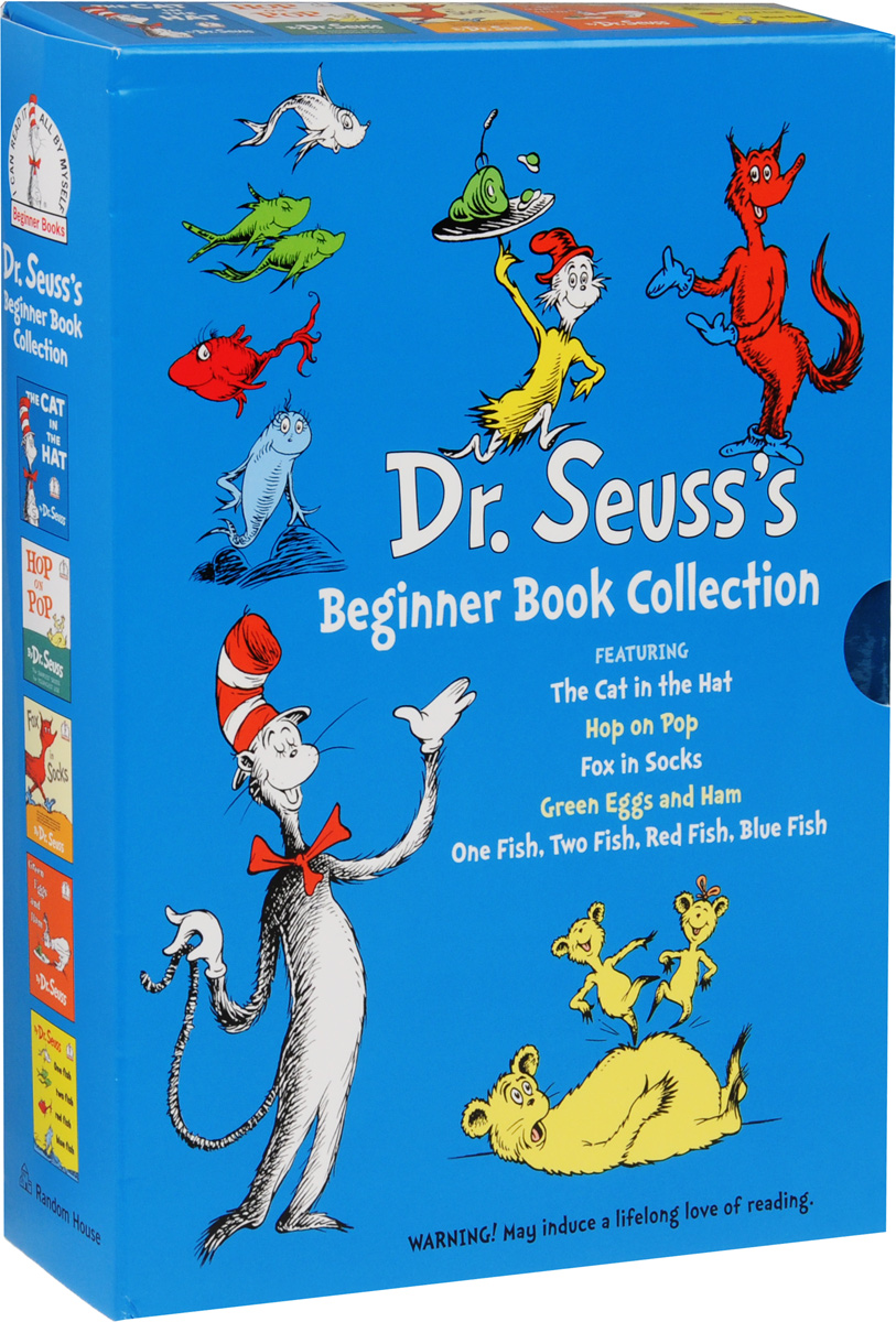 Dr. Seuss's Beginner Book Collection (комплект из 5 книг) the john green collection комплект из 5 книг