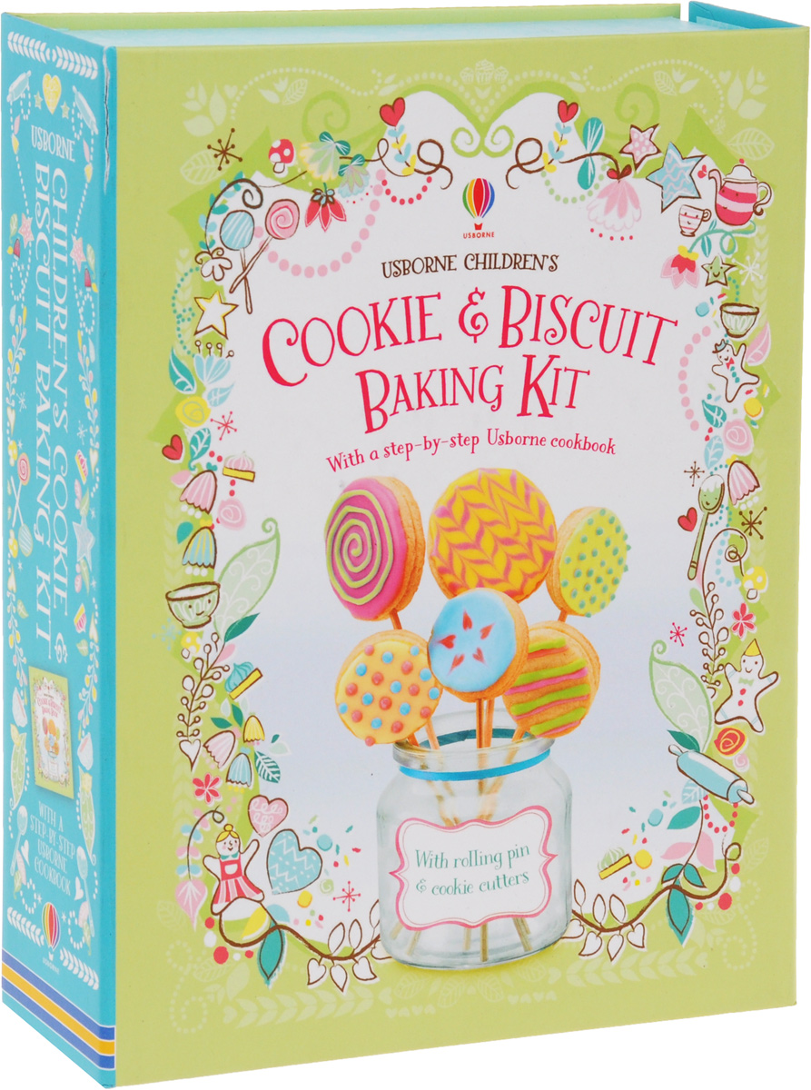 Usborne Children's Cookie & Biscuit Baking Kit gretchen holt cookies for kids cancer best bake sale cookbook