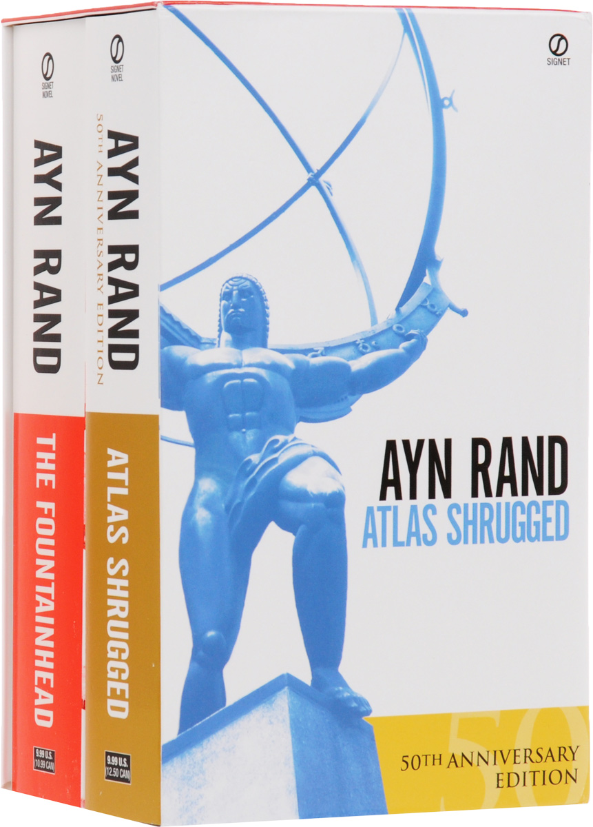 The Fountainhead. Atlas Shrugged (комплект из 2 книг) atlas shrugged by ayn rand