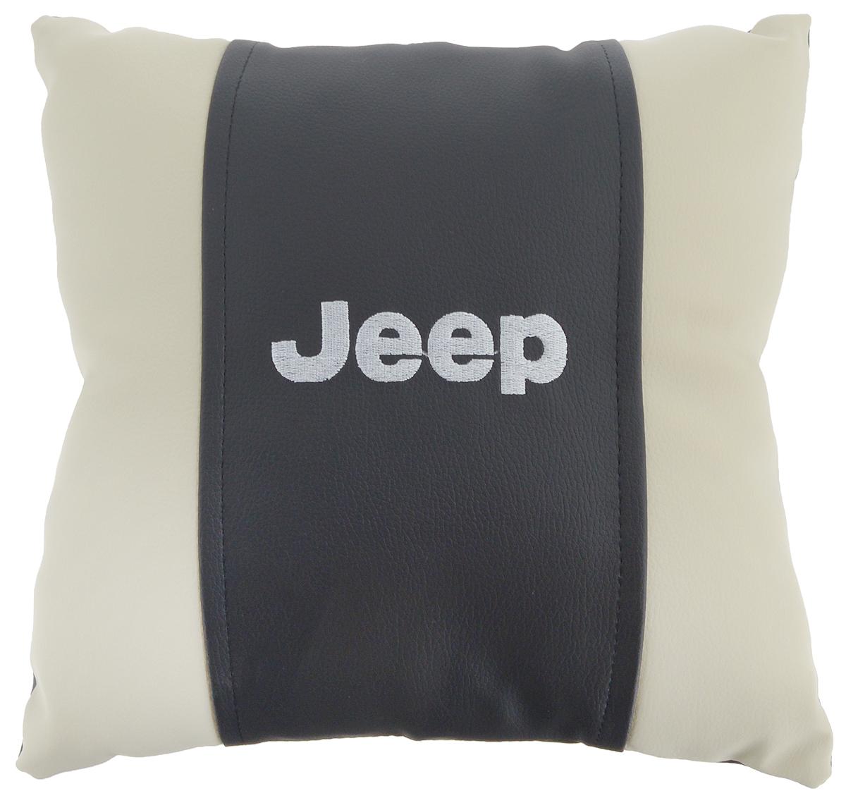 Подушка на сиденье Autoparts Jeep, 30 х 30 смМ074Подушка на сиденье Autoparts Jeep создана для тех, кто весь свой день вынужден проводить за рулем. Чехол выполнен из высококачественной дышащей экокожи. Наполнителем служит холлофайбер. На задней части подушки имеется змейка.Особенности подушки:- Хорошо проветривается.- Предупреждает потение.- Поддерживает комфортную температуру.- Обминается по форме тела.- Улучшает кровообращение.- Исключает затечные явления.- Предупреждает развитие заболеваний, связанных с сидячим образом жизни. Подушка также будет полезна и дома - при работе за компьютером, школьникам - при выполнении домашних работ, да и в любимом кресле перед телевизором.