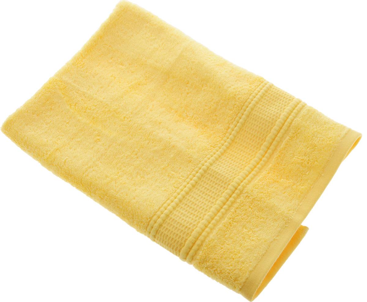 Полотенце Soavita Luxury. Гладь, цвет: желтый, 50 х 70 см51738Полотенце Soavita Luxury. Гладь выполнено из 50% тенселя и 50% хлопка. Изделие отлично впитывает влагу, быстро сохнет, сохраняет яркость цвета и не теряет форму даже после многократных стирок. Полотенце очень практично и неприхотливо в уходе. Оно создаст прекрасное настроение и украсит интерьер в ванной комнате.Рекомендуется стирка при температуре 40°C.