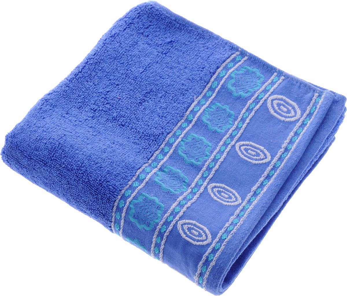 Полотенце Soavita Bruno, цвет: ярко-синий, 50 х 90 см64039Полотенце Soavita Bruno выполнено из 100% хлопка. Изделие отлично впитывает влагу, быстро сохнет, сохраняет яркость цвета и не теряет форму даже после многократных стирок. Полотенце очень практично и неприхотливо в уходе. Оно создаст прекрасное настроение и украсит интерьер в ванной комнате.Рекомендуется стирка при температуре 40°C.