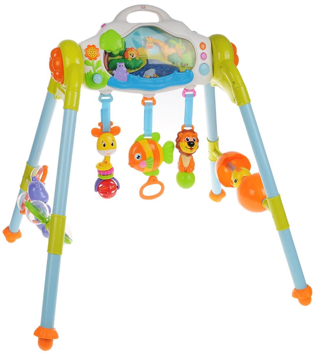 филлипс музыкальный центр Huile Toys Развивающий музыкальный центр 3 в 1