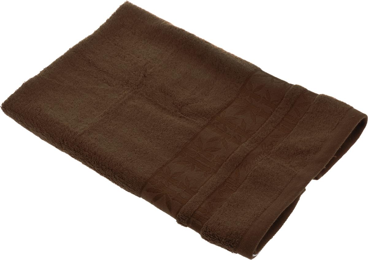 Полотенце Soavita Daniel, цвет: коричневый, 50 х 70 см64125Полотенце Soavita Daniel выполнено из 100% бамбукового волокна. Изделие отлично впитывает влагу, быстро сохнет, сохраняет яркость цвета и не теряет форму даже после многократных стирок. Полотенце очень практично и неприхотливо в уходе. Оно создаст прекрасное настроение и украсит интерьер в ванной комнате.Рекомендуется стирка при температуре 40°C.