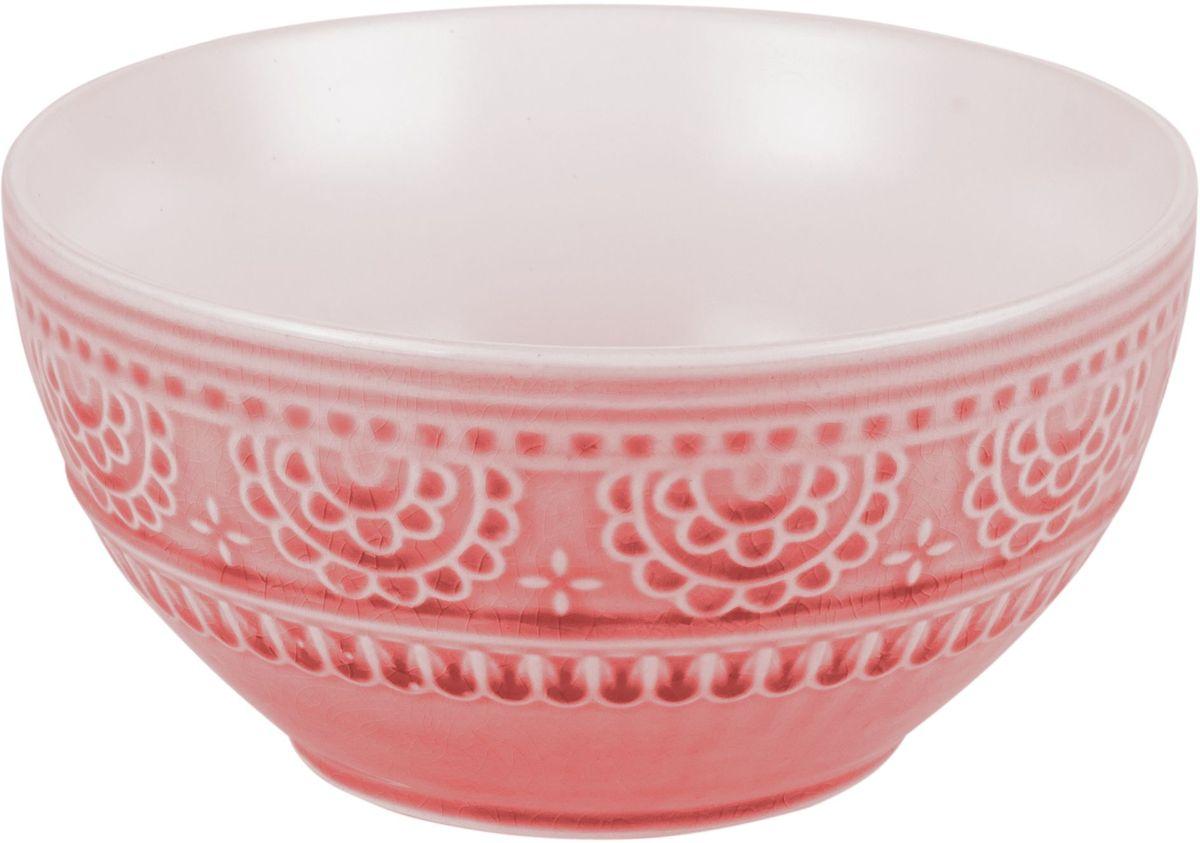 Набор салатников Tongo, цвет: розовый само, диаметр 17 см, 6 штBOW-17p Tongo Набор салатниковНабор Tongo состоит из 6 круглых салатников, выполненных из высококачественной керамики. Глазурованное покрытие обеспечивает легкую очистку. Декоративная техника придает посуде этнический шарм, с элементами старения, в виде паутинки мелких трещинок на поверхности эмали, что повышает ее привлекательность и ценность среди посудных аналогов. Изделия обладают высокой термостойкостью, а также экологичностью и долговечностью. Салатники отлично подходят для сервировки закусок, соусов, салатов. Легко штабелируются, что позволяет складывать салатники друг в друга и экономить место при хранении. Салатники практичны, функциональны и имеют лаконичный классический дизайн. Такой набор салатников станет отличным приобретением для вашей кухни. Можно мыть в посудомоечной машине и использовать в микроволновой печи. Диаметр салатника (по верхнему краю): 16 см. Высота салатника: 8 см.