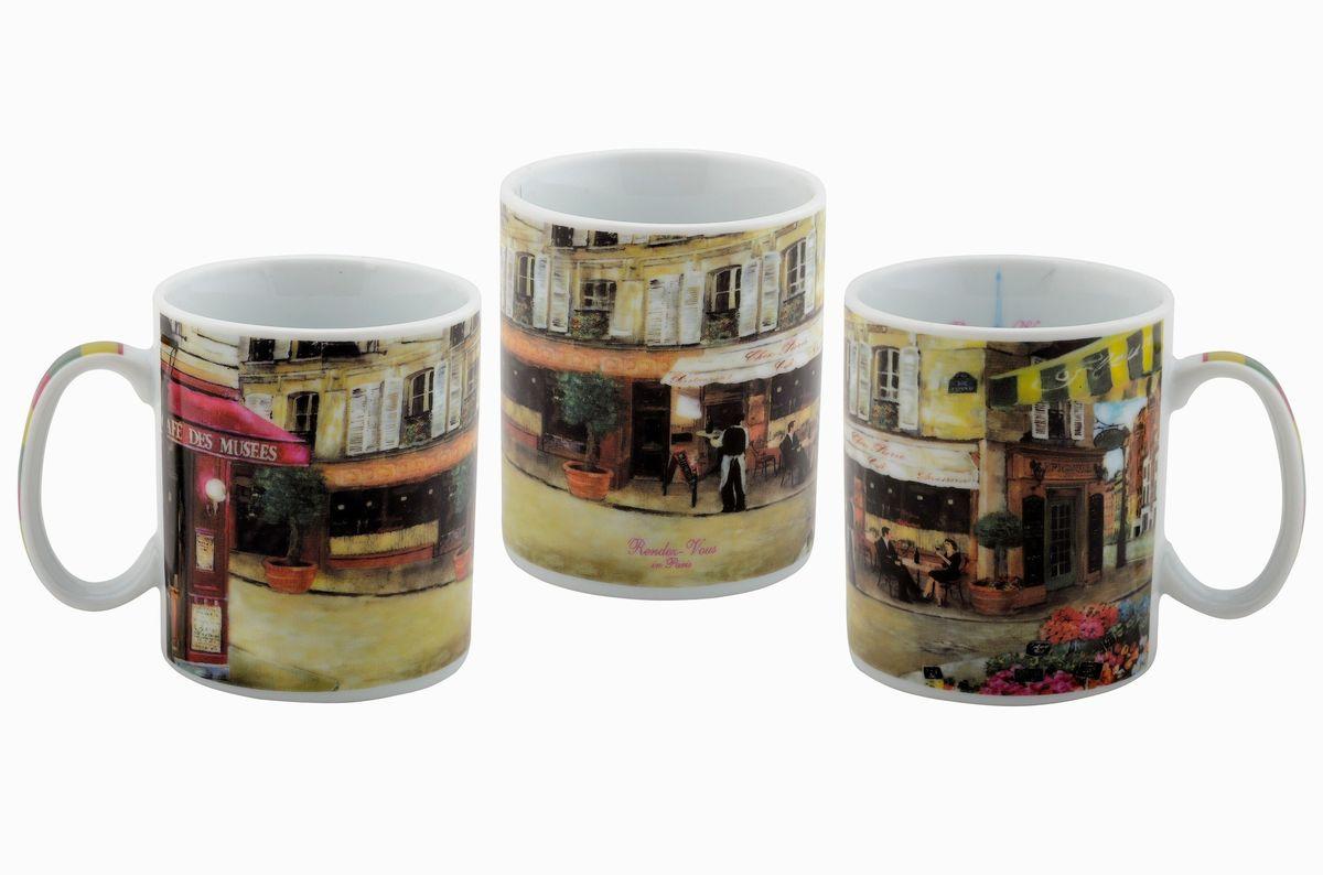 Набор кружек GiftLand, 300 мл, 3 штMUG Rendez 6Набор GiftLand состоит из 3 кружек, выполненных из высококачественного фарфора. Изделия декорированы изысканными рисунками. Такой набор станет изящным украшением стола к чаепитию и согреет вас вашим любимым напитком. Отличный подарок к любому случаю.