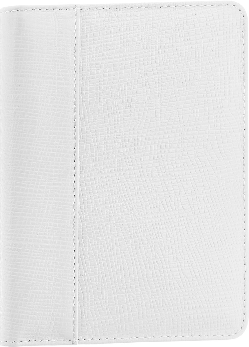 Обложка для автодокументов женская Esse Page Auto, цвет: белый. GPGA00-000000-FG003O-K100Натуральная кожаСтильная и функциональная женская обложка для автодокументов Esse Page Auto не только поможет сохранить внешний вид ваших документов, но и станет стильным аксессуаром, идеально подходящим вашему образу.Обложка выполнена из качественной натуральной кожи с оригинальным тиснением. Подкладка выполнена из полиэстера.Изделие раскладывается пополам и содержит три прорези для кредитных карт или визиток, два боковых открытых кармана и пластиковый блок с шестью файлами, позволяющий рационально разместить все необходимые документы, в том числе страховку.Изделие поставляется в фирменной упаковке.Оригинальная обложка для автодокументов Esse станет отличным подарком для человека, ценящего качественные и практичные вещи.