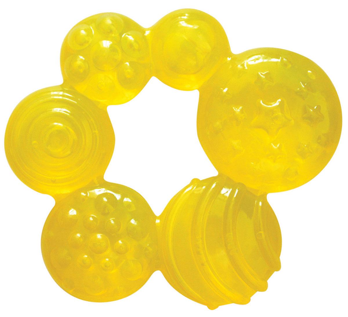 Lubby Прорезыватель Геометрия цвет желтый lubby прорезыватель карамельное ассорти лошадка