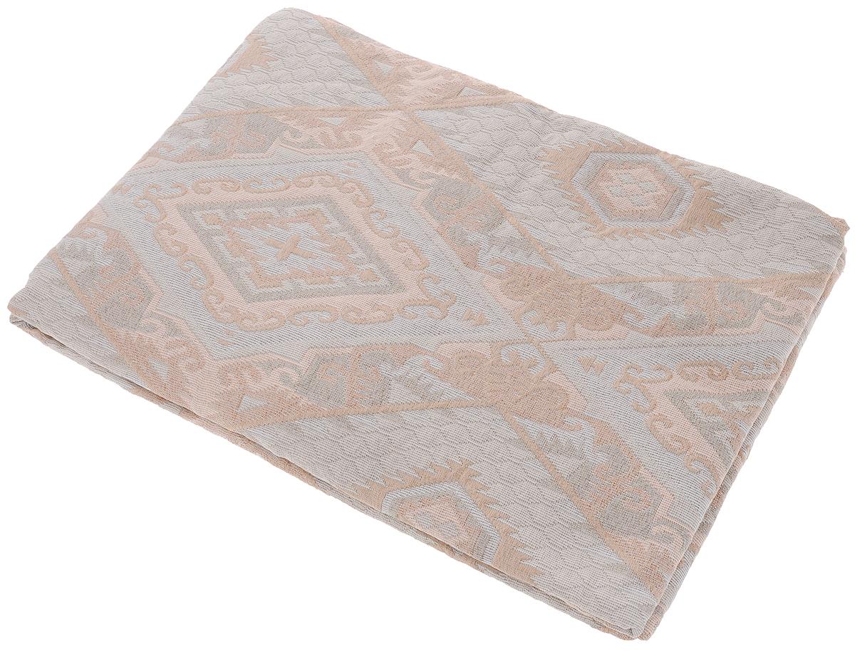 Покрывало Arya Tay-Pen, цвет: светло-серый, бежевый, золотой, 170 х 240 см. 10621062_Design 87Покрывало Arya Tay-Pen прекрасно оформит интерьер спальни или гостиной. Изделие изготовлено из 100% полиэстера. Жаккардовые покрывала уникальны, так как они практичны и универсальны в использовании. Жаккардовые ткани хорошо сохраняют окраску, слабо подвержены влиянию перепадов температур. Своеобразный рельефный рисунок, который получается в результате сложного переплетения на плотной ткани, напоминает гобелен.Изделие долговечно, надежно и легко стирается. Покрывало Arya Tay-Pen не только подарит тепло, но и гармонично впишется в интерьер вашего дома.