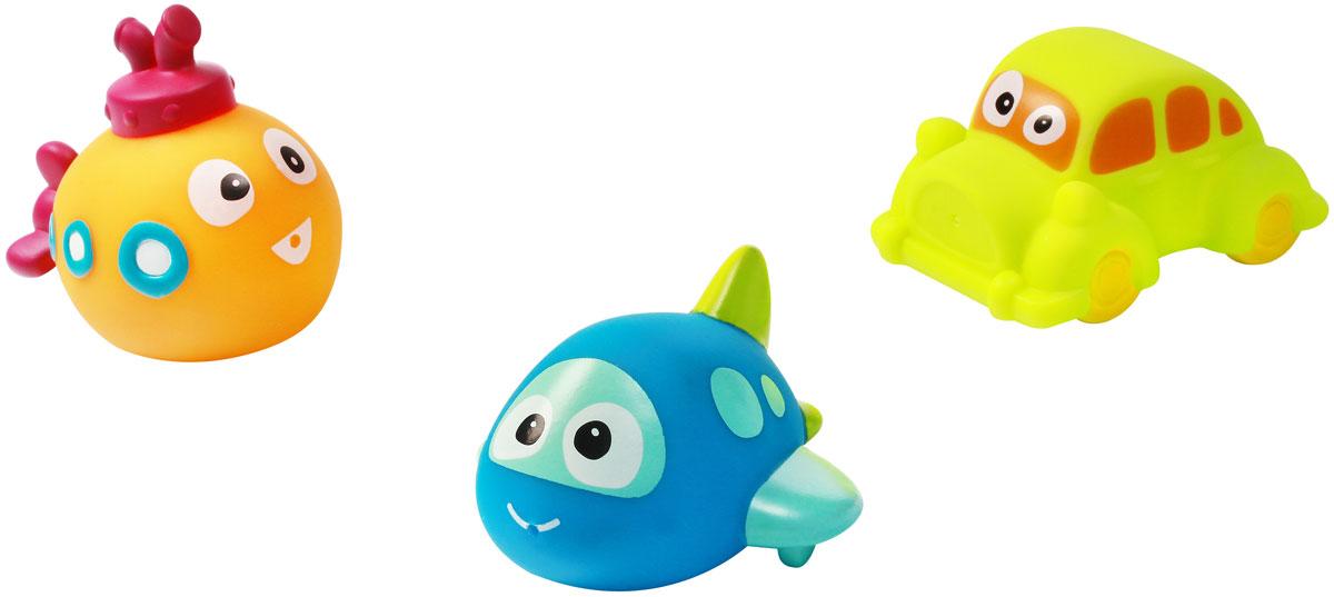 BabyOno Набор игрушек для ванной Техника 3 шт игрушки для ванной пома набор игрушек лесной домик