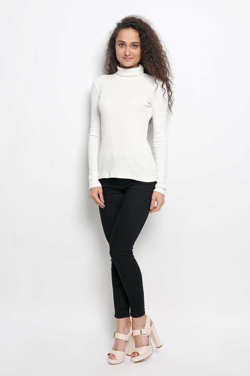 Водолазка женская Rocawear, цвет: молочный. R041516. Размер S (44)R041516Женская водолазка Rocawear выполнена из мягкого эластичного хлопка. Материал изделия тактильно приятный, не сковывает движения и хорошо вентилируется. Водолазка с воротником-гольф и длинными рукавами имеет слегка приталенный силуэт.Модель идеально подойдет для повседневной носки и обеспечит комфорт и удобство в течение всего дня.
